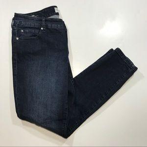 Torrid Skinny Stretch Blue Jeans, Size 12